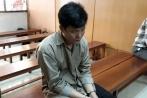 Gã đàn ông giết vợ vì ghen khóc nức nở tại tòa