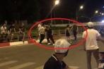 Hai nhóm nhanh niên cầm dao hỗn chiến giữa phố Hà Nội