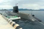 Tàu ngầm huấn luyện Nhật Bản lần đầu đến Việt Nam