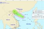 Áp thấp nhiệt đới đi vào đất liền giật cấp 8 rồi suy yếu