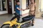 Xe bị mất trộm 6 năm được CSGT trả lại cho chủ nhân