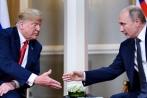 Video: Ông Trump nháy mắt bí ẩn với ông Putin tại cuộc gặp riêng