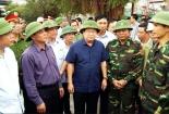 Phó Thủ tướng thị sát chống bão số 7 tại Hải Phòng, Quảng Ninh