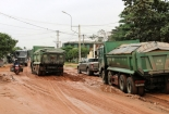 Đường xuống cấp, dân Quảng Nam lập rào chặn xe
