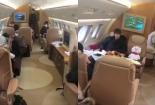 Choáng ngợp với phi cơ nhóm BTS sử dụng đi lưu diễn
