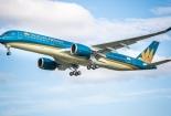 Tàu bay của Vietnam Airlines bị rách lốp khi hạ cánh tại Nội Bài