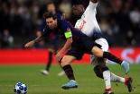 Champions League đêm qua: Messi nhấn chìm Tottenham; Liverpool thất thểu rời nước Ý