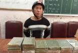 Mang 20 bánh heroin đi bán bị CSGT Nghệ An bắt giữ