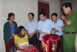 Lãnh đạo Hà Tĩnh thăm hỏi nữ sinh bị xe cán nát 2 chân