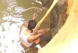 Video: Đu dây xuống giếng sâu 12 mét giải cứu rắn hổ mang