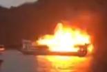 Video: Tàu du lịch bốc cháy dữ dội trên vịnh Hạ Long
