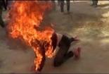 """Anh: Kinh hoàng tù nhân tự thiêu vì bị """"ngáo đá"""""""