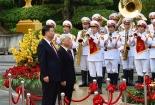 Bắn 21 phát đại bác đón TBT, Chủ tịch Trung Quốc Tập Cận Bình