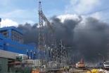 Cháy lớn tại nhà máy Nhiệt điện Duyên Hải 3