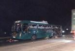 Video: Hiện trường vụ xe khách bất ngờ phát nổ tại Bắc Ninh