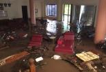 Hải Hậu: Cơ quan, nhà dân ngập lụt trong nước do bão số 10