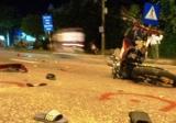 Hai xe máy tông nhau trên QL1A, 4 người nguy kịch