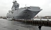 Pháp hủy bàn giao tàu chiến Mistral cho Nga