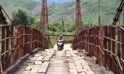 Đắk Lắk: Bất an cầu treo cũ buôn Khóa