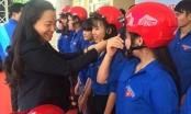 Honda Việt Nam tặng 500 mũ bảo hiểm cho thanh niên tỉnh Đắk Lắk