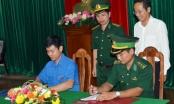 Đoàn KCM kết nghĩa cùng Đoàn Phòng tham mưu BĐBP Cà Mau
