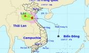 Bão số 2 đi sâu vào đất liền, Bắc Trung Bộ mưa to