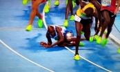 Tin mới Olympic: VĐV điền kinh bị ngã vẫn xuất sắc giành HCV
