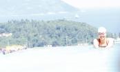 Kình ngư Ánh Viên thử sức đường bơi vô cực dát vàng Đà Nẵng