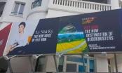 Lý Nhã Kỳ xuất hiện trên pano quảng bá Việt Nam có phạm luật?