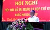 Bộ trưởng Trương Quang Nghĩa tiếp xúc cử tri huyện Quỳnh Nhai, Sơn La