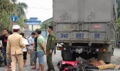 Đâm vào xe tải, hai thanh niên đầu trần chết thảm