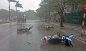 Thời tiết ngày 15/9/2017: Ảnh hưởng bão số 10, Hà Nội mưa to
