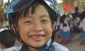 Trao 600 mũ bảo hiểm cho học sinh tại Gia Lai