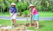 Nghỉ dưỡng ở Furama Đà Nẵng, du khách được tặng trồng cây xanh