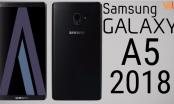 Galaxy A5 2018 sẽ trang bị cảm biến vân tay đặt sát camera