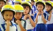 Gia Lai: Trao 1.300 mũ bảo hiểm cho học sinh tiểu học