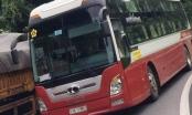 Ủy ban ATGT Quốc gia: Xử nghiêm vụ xe khách lấn làn, vượt ẩu