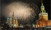 Thủ đô Nga đón năm mới như thế nào?