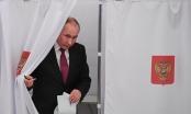 Ông Vladimir Putin đã bỏ phiếu bầu cử của mình