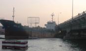 Cầu Đồng Nai rung lắc sau cú va chạm cực mạnh của tàu hàng