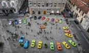 Bộ sưu tập Lamborghini Miuras đa màu sắc