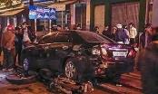 Gây tai nạn liên hoàn, nữ tài xế lái xe 7 chỗ bỏ trốn