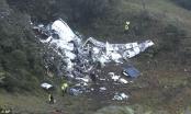 Tìm thấy 2 hộp đen của máy bay chở đội bóng Brazil gặp nạn