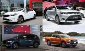 Những mẫu xe bán chạy nhất Việt Nam tháng 12/2017