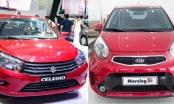 Suzuki Celerio giá rẻ vẫn đại bại dưới chân Kia Morning