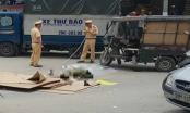 Hà Nội: Xe ba bánh lật đè chết người trên đường Nguyễn Xiển