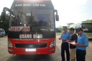 Nam Định: Liên tiếp mở cao điểm xử lý xe chở khách vi phạm