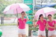 Hoa hậu Việt Nam hoãn hoạt động ngoài trời vì mưa bão