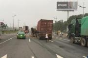 Đề xuất xây cầu vượt đi bộ trước sân bay Nội Bài