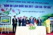 """Phát hành bộ tem """"Năm du lịch quốc gia 2017–Lào Cai – Tây Bắc"""""""